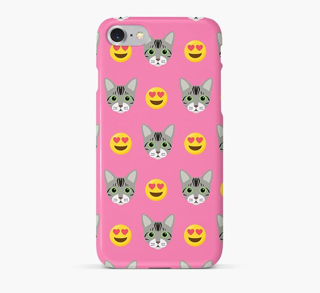 'Heart Eyes' - Personalized Bengal Phone Case