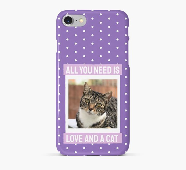 'All You Need is Love' - Ashera Photo Upload Phone Case