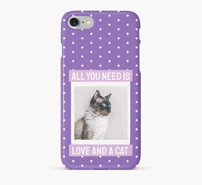 'All You Need is Love' - Balinese Photo Upload Phone Case