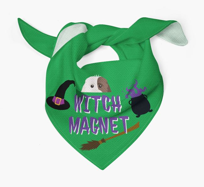 'Witch Magnet' - Personalized Cockapoo Bandana