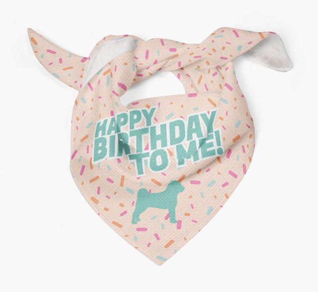 Birthday Dog Bandana for {dogsName}