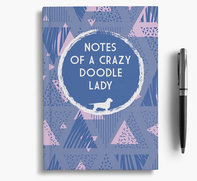 'Crazy Doodle Lady' Notebook