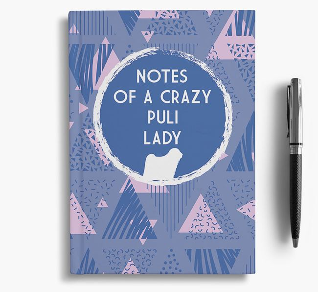 'Crazy Puli Lady' Notebook