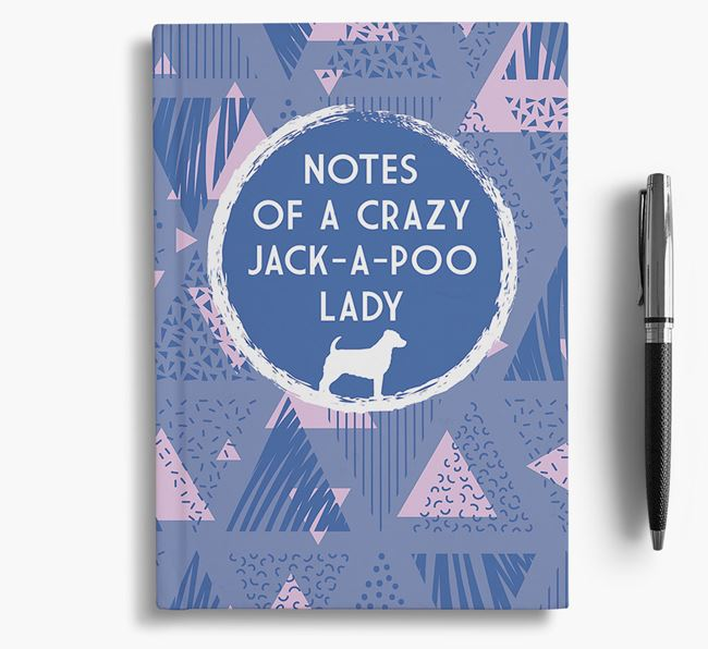 'Crazy Jack-a-Poo Lady' Notebook