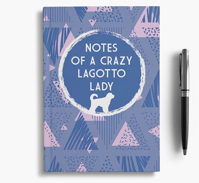'Crazy Lagotto Lady' Notebook