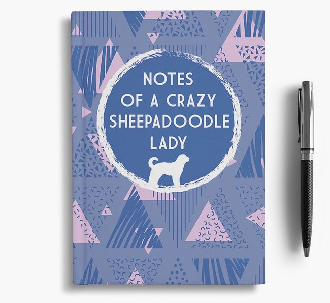 'Crazy Sheepadoodle Lady' Notebook