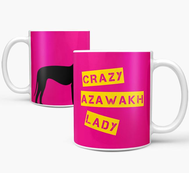 'Crazy Azawakh Lady' Mug