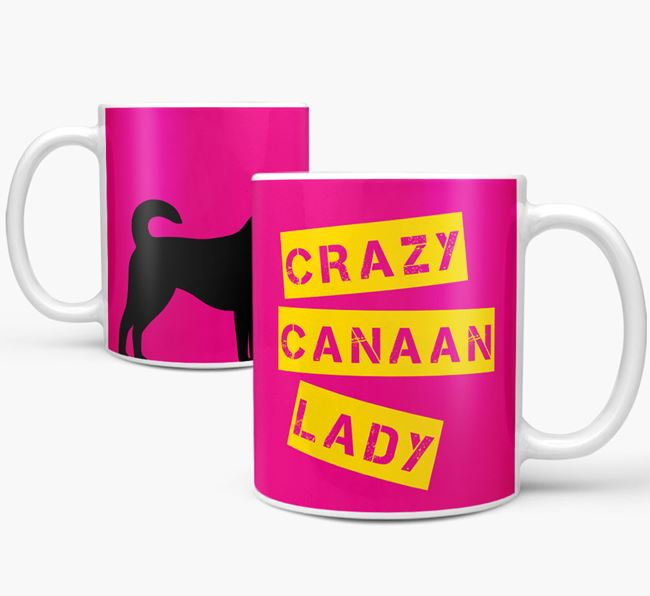 'Crazy Canaan  Lady' Mug