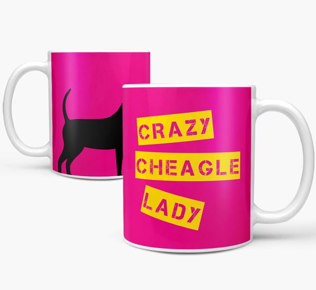 'Crazy Cheagle Lady' Mug