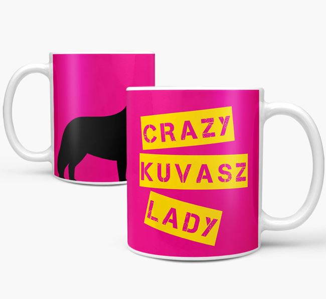 'Crazy Kuvasz Lady' Mug