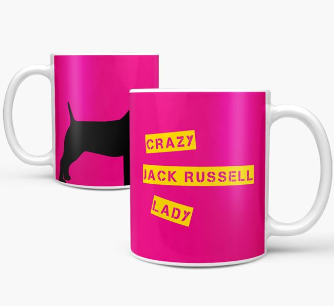 'Crazy Dog Lady' Mug