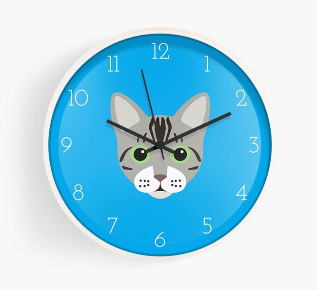 'Bengal Icon' - Personalised Wall Clock