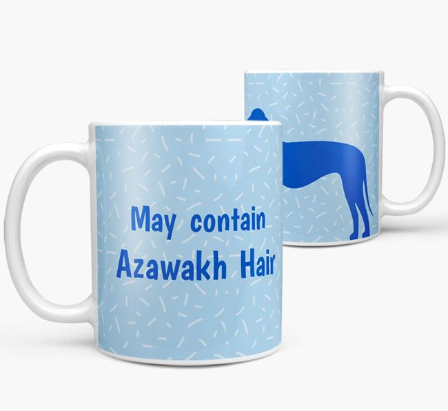 'May contain: Azawakh Hair' Mug
