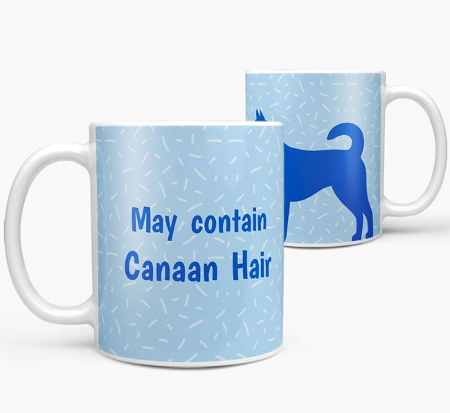 'May contain: Canaan Hair' Mug