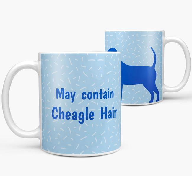 'May contain: Cheagle Hair' Mug