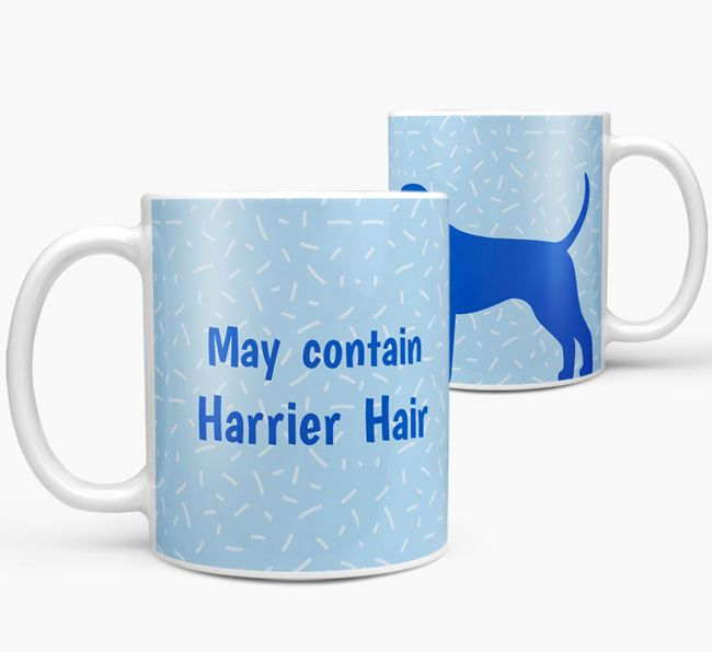 'May contain: Harrier Hair' Mug