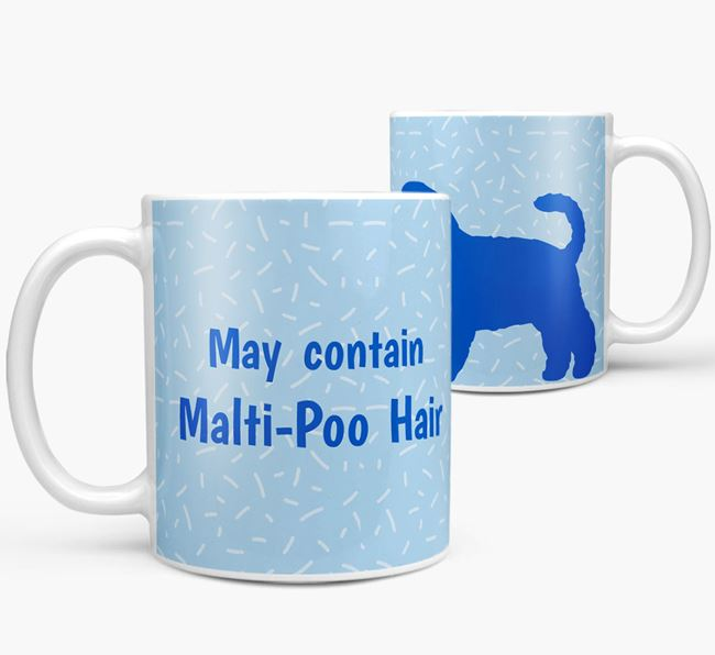 'May contain: Dog Hair' Mug