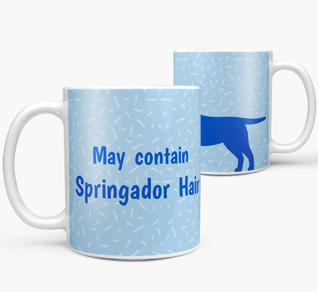 'May contain: Springador Hair' Mug