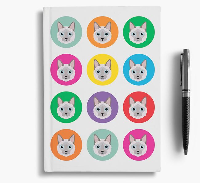 'Balinese Icons' - Personalized Notebook