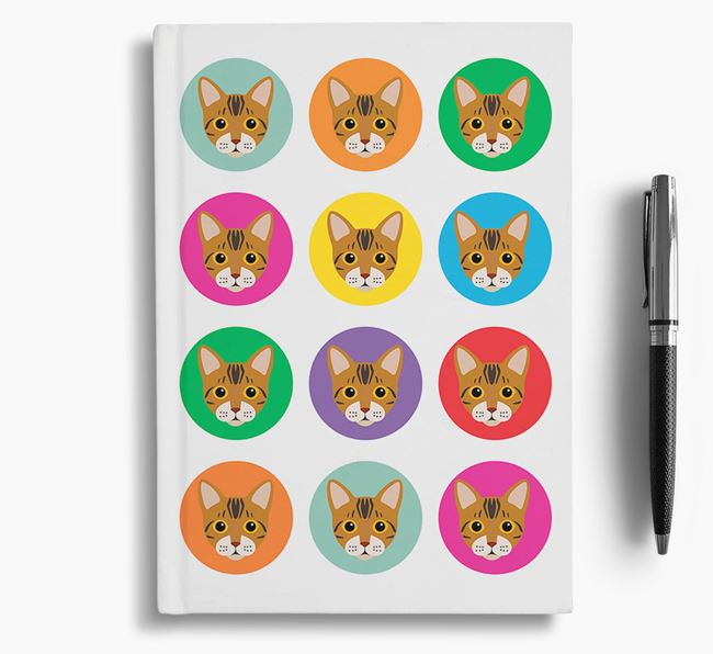 'Bengal Icons' - Personalized Notebook