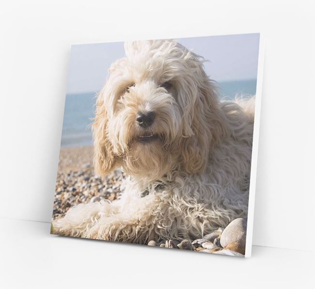 Photo Upload Canvas Print - Personalised for your Cockapoo