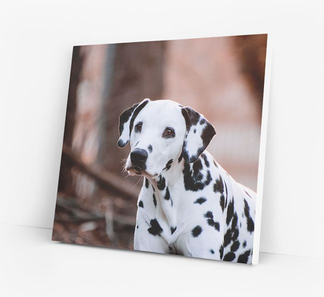 Photo Upload Canvas Print - Personalised for your Dalmatian