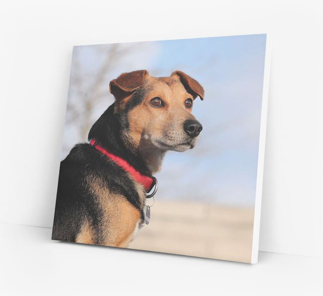 Photo Upload Canvas Print - Personalised for your Great Dane