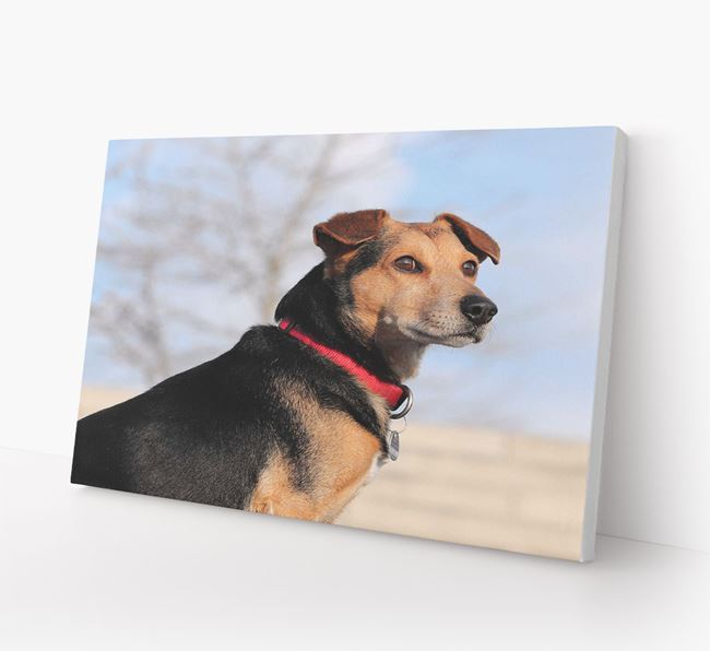 Photo Upload Canvas Print Landscape - Personalised for your Great Dane