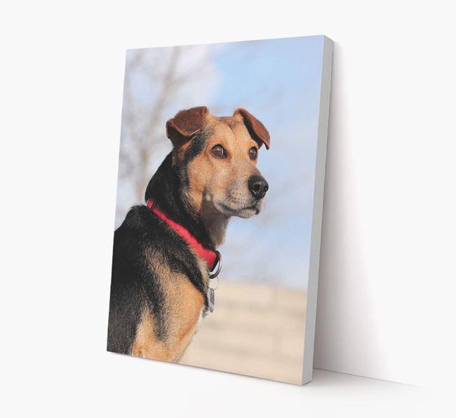 Photo Upload Canvas Print Portrait - Personalised for your Corgi