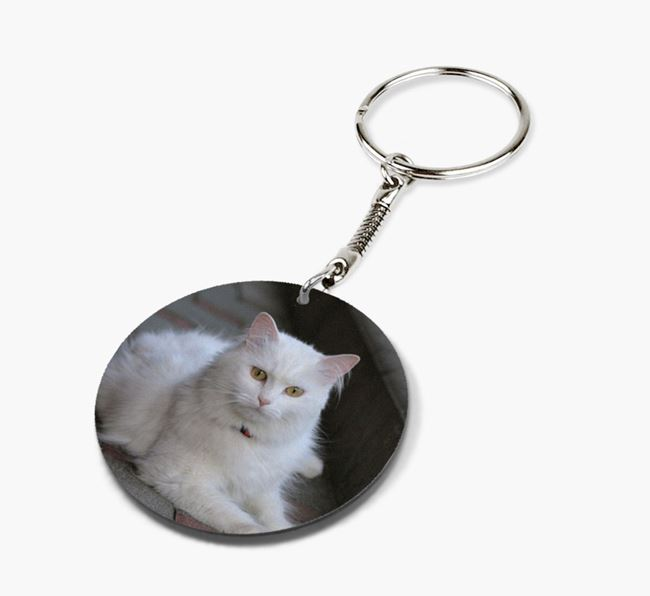 Photo Upload Keyring - Personalised for your Cat