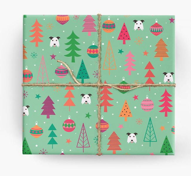 Christmas Pattern Wrapping Paper