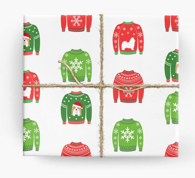 Christmas Jumper Wrapping Paper