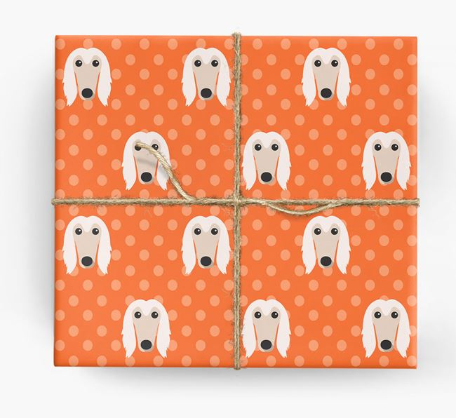 Afghan Hound Wrapping Paper