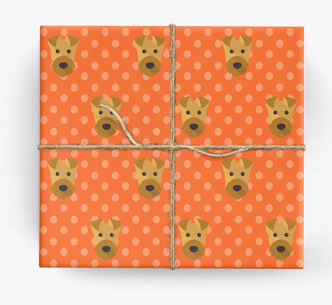 Airedale Wrapping Paper