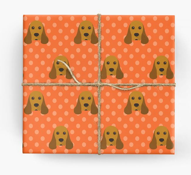 Cocker Spaniel Wrapping Paper