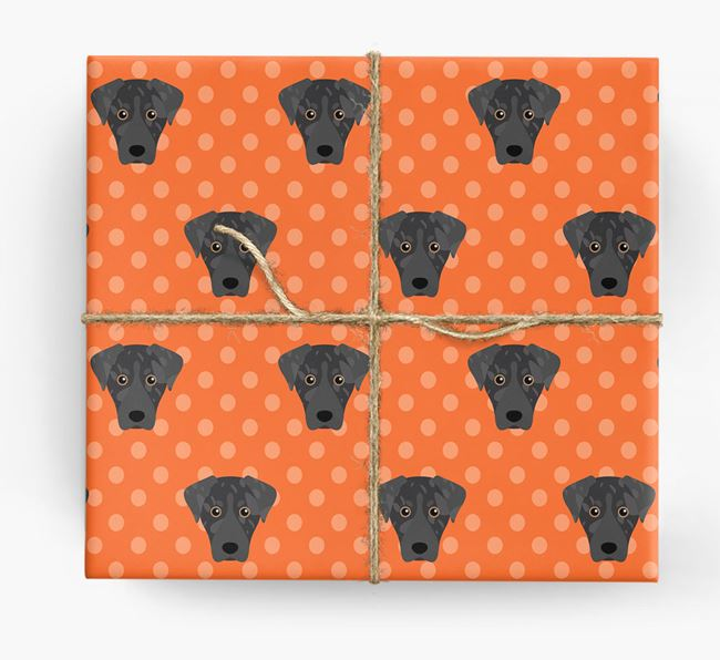 Leopard Cur Wrapping Paper
