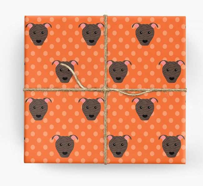 Pit Bull Terrier Wrapping Paper