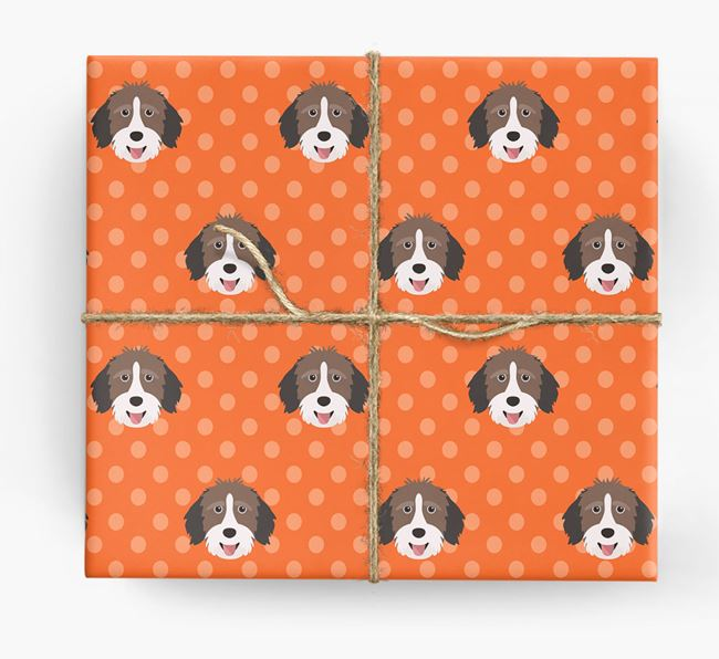 Aussiedoodle Wrapping Paper