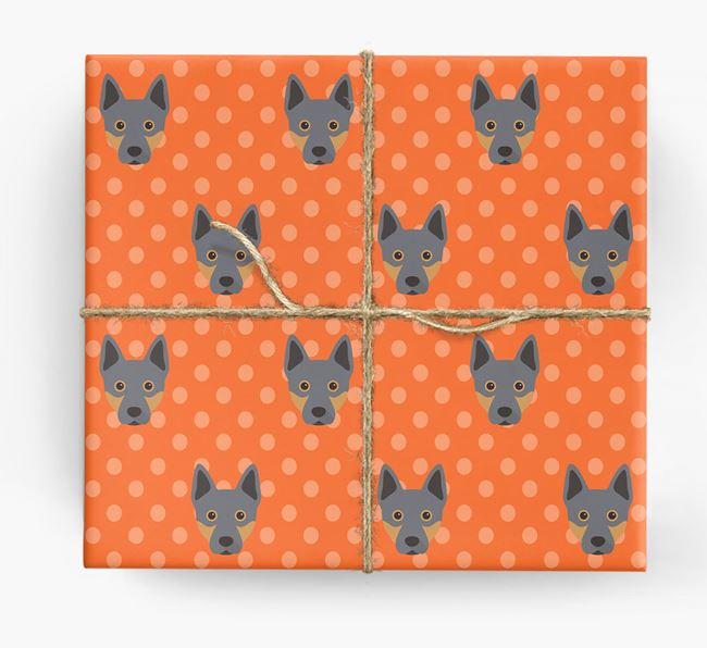 Cattle Dog Wrapping Paper
