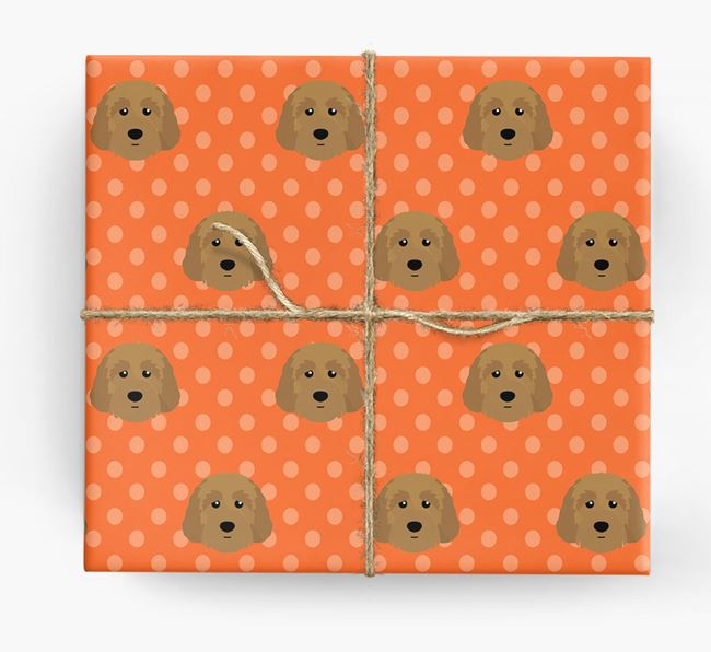 Australian Labradoodle Wrapping Paper