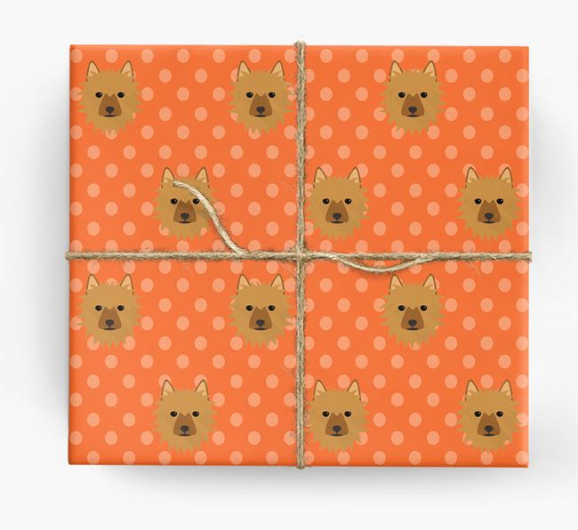 Aussie Terrier Wrapping Paper