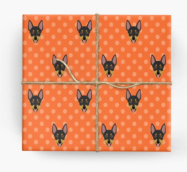 Working Kelpie Wrapping Paper