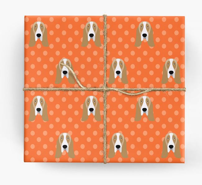 Basset Hound Wrapping Paper
