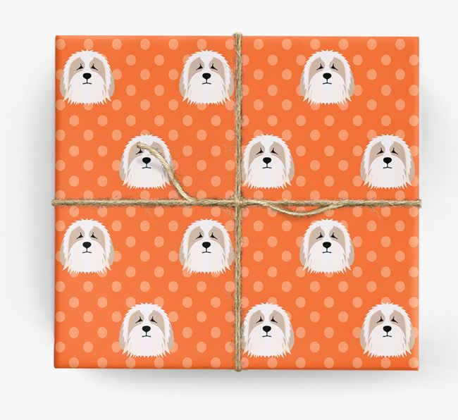 Bearded Collie Wrapping Paper