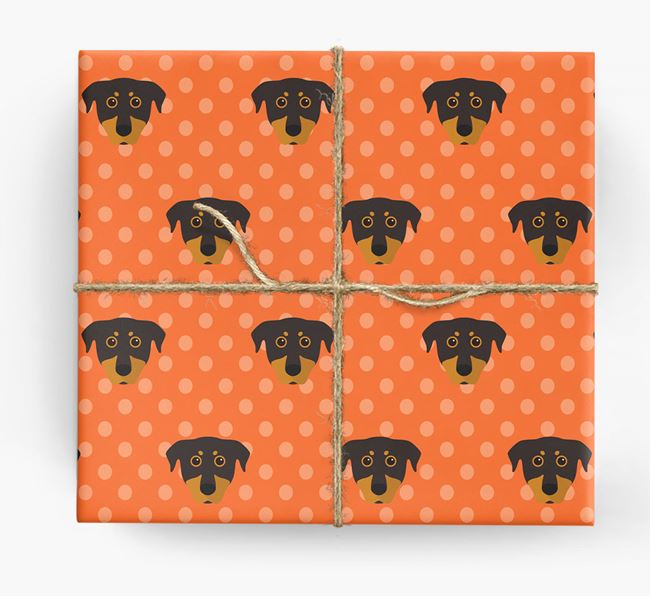 Beauceron Wrapping Paper
