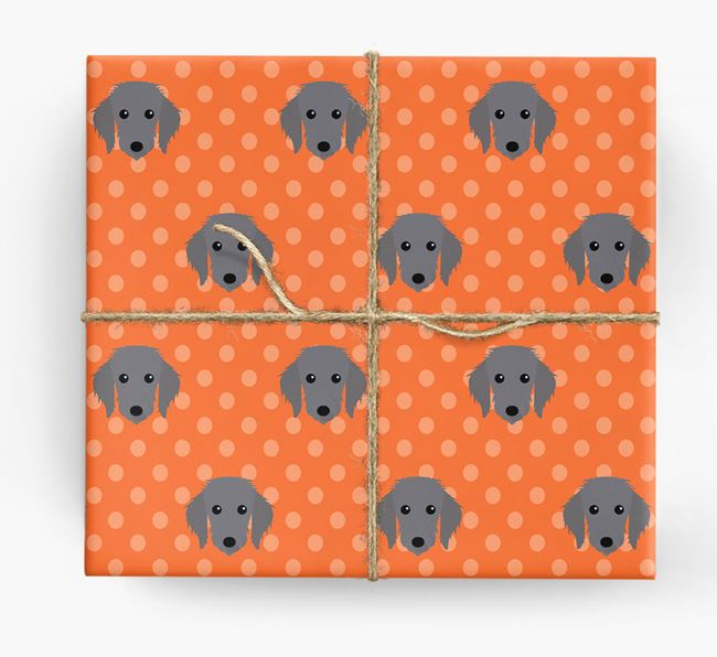 Bedlington Whippet Wrapping Paper