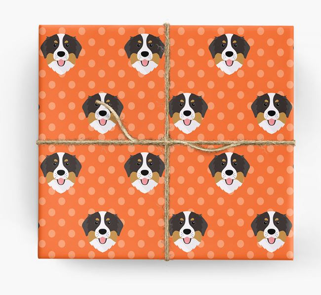 Bernese Wrapping Paper