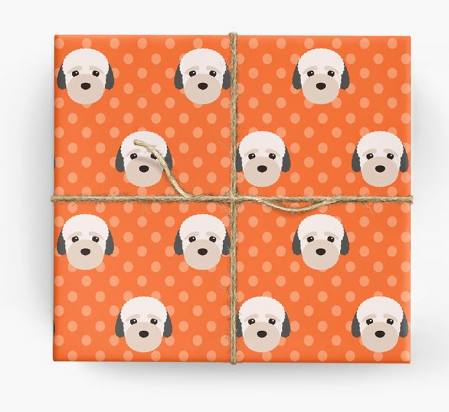 Bich-poo Wrapping Paper