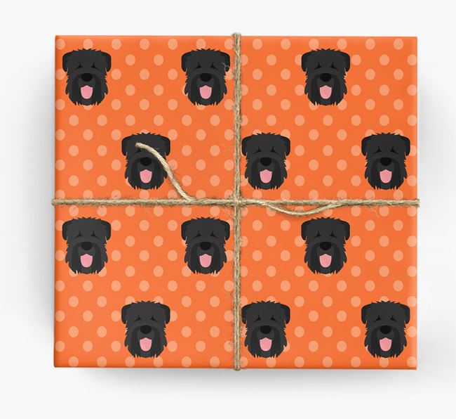 Black Russian Wrapping Paper