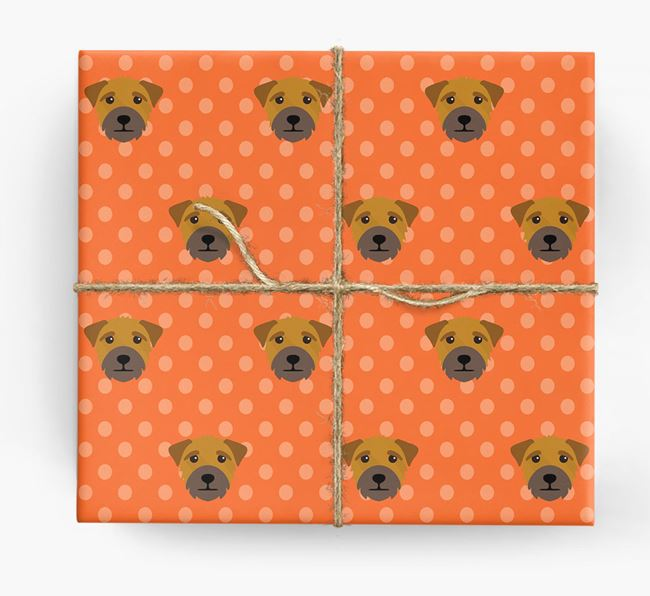 Border Terrier Wrapping Paper